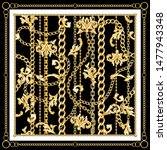 retro design carf with gold...   Shutterstock .eps vector #1477943348