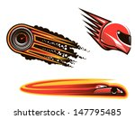 racing sport elements and icons ... | Shutterstock .eps vector #147795485