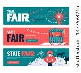 vector illustrations of state... | Shutterstock .eps vector #1477968215