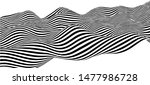 black and white abstract wave....   Shutterstock .eps vector #1477986728