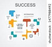 success infographic 10 line...