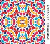 abstract kaleidoscopic pattern   Shutterstock .eps vector #147798875