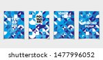 set of retro covers. collection ... | Shutterstock .eps vector #1477996052