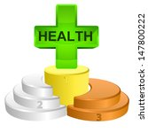 best podium place for health... | Shutterstock .eps vector #147800222