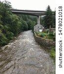 Small photo of River Greta in spate in Keswick