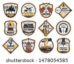 sound recording studio label ...   Shutterstock .eps vector #1478054585