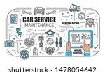 car online service  mechanic...   Shutterstock .eps vector #1478054642