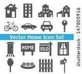 Home Icons Set. Real Estate....