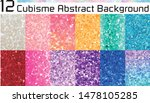 cubisme abstract  background....   Shutterstock .eps vector #1478105285