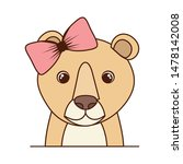 cute and adorable tiger with...   Shutterstock .eps vector #1478142008