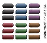 buttons set  vector eps10...