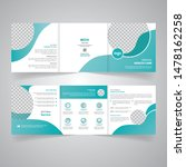 medical templates for tri fold...   Shutterstock .eps vector #1478162258