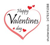 happy valentine s day... | Shutterstock .eps vector #1478191088
