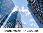 skyscrapers in manhattan  new... | Shutterstock . vector #147822305
