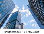 skyscrapers in manhattan  new... | Shutterstock . vector #147822305