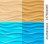 sand and water background.... | Shutterstock .eps vector #147826085