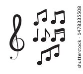 note music vector illustration...