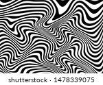 black and white vector waves.... | Shutterstock .eps vector #1478339075