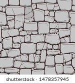 hand drawn texture of brick... | Shutterstock .eps vector #1478357945