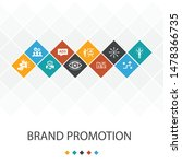 brand promotion trendy ui...