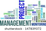 a word cloud of project... | Shutterstock .eps vector #147839372