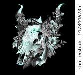 vintage illustration of bull...   Shutterstock .eps vector #1478446235