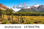 Постер, плакат: Beautiful landscape with Mt
