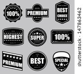 collection of premium quality... | Shutterstock .eps vector #147863462
