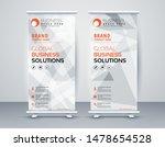 business roll up. standee... | Shutterstock .eps vector #1478654528