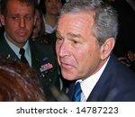 Visit Of The Us President Bush...