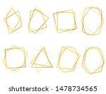realistic 3d detailed golden... | Shutterstock .eps vector #1478734565