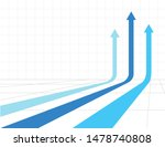 three arrows going up  stock... | Shutterstock .eps vector #1478740808