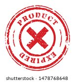 product expired stamp isolated... | Shutterstock .eps vector #1478768648