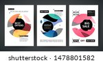 set template design of sale and ...   Shutterstock .eps vector #1478801582