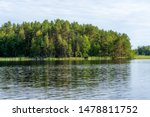 A calm day on the shores of the calm Saimaa lake in the Linnansaari National Park in Finland - 3