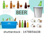 realistic brewing composition... | Shutterstock .eps vector #1478856638