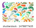 hand drawn grunge texture....   Shutterstock .eps vector #1478877635