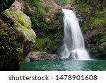 A Hidden Waterfall In Maui...