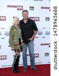 """Small photo of LOS ANGELES - AUG 13: Gwen Stefani, Blake Shelton at the """"Bennett's War"""" Los Angeles Premiere at the Warner Brothers Studios on August 13, 2019 in Burbank, CA"""