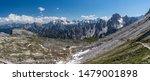 Panorama On The Three Peaks...