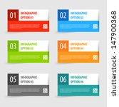 simple modern infographics... | Shutterstock .eps vector #147900368