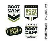 bootcamp badge logo theme in 4... | Shutterstock .eps vector #1479008495