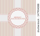 vintage background in a unique... | Shutterstock . vector #147904088