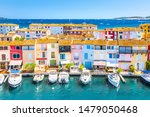 View Of Colorful Houses And...