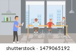 a vector  conditions at work  a ... | Shutterstock .eps vector #1479065192
