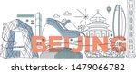 typography word beijing...   Shutterstock .eps vector #1479066782
