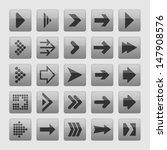 arrow icons | Shutterstock .eps vector #147908576