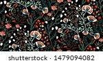 Floral Pattern. Seamless...