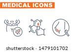 medical vector icons set  sign... | Shutterstock .eps vector #1479101702