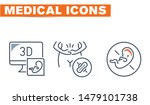 medical vector icons set  sign... | Shutterstock .eps vector #1479101738
